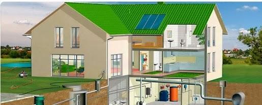 Пример проектирования и монтажа системы отопления
